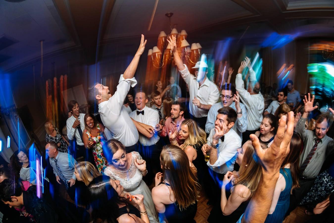 everyone dances seattle tennis club wedding