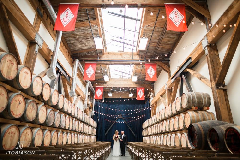 First Look at Westland Distillery Wedding