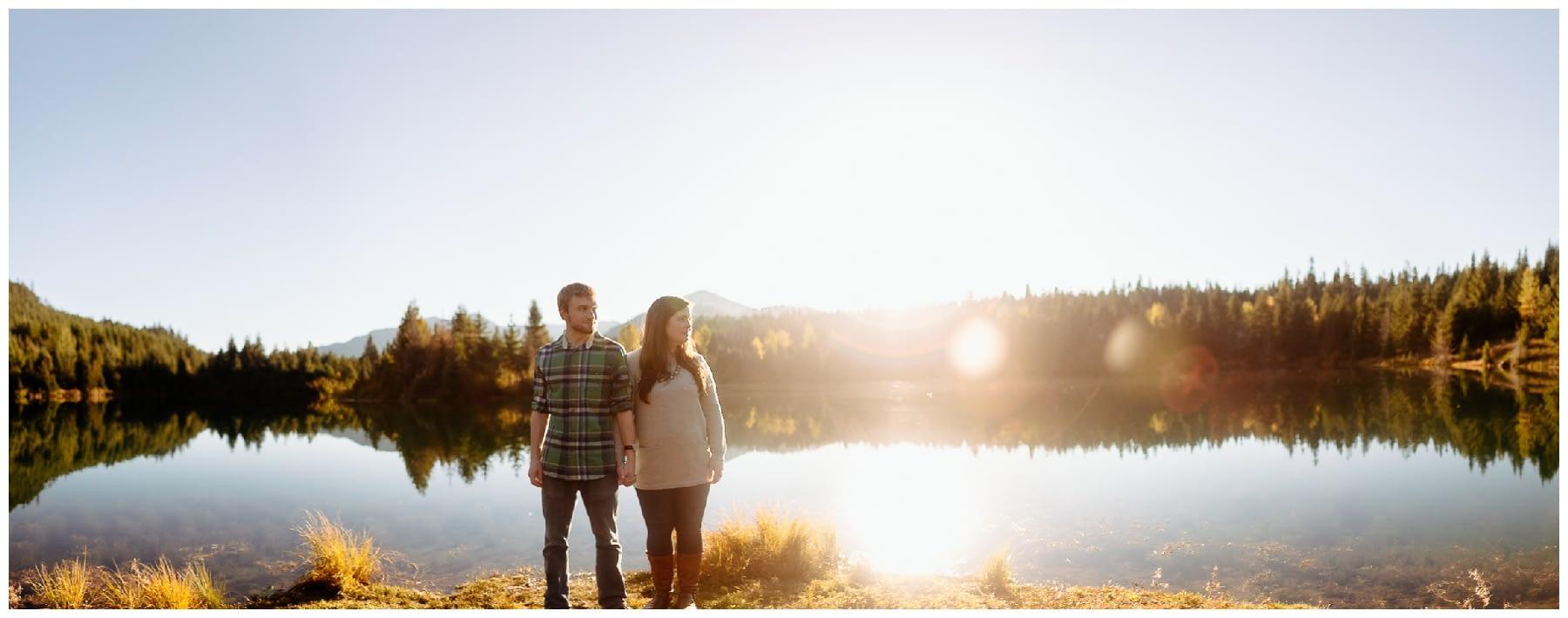 Gold Creek pond best hiking proposal in wa