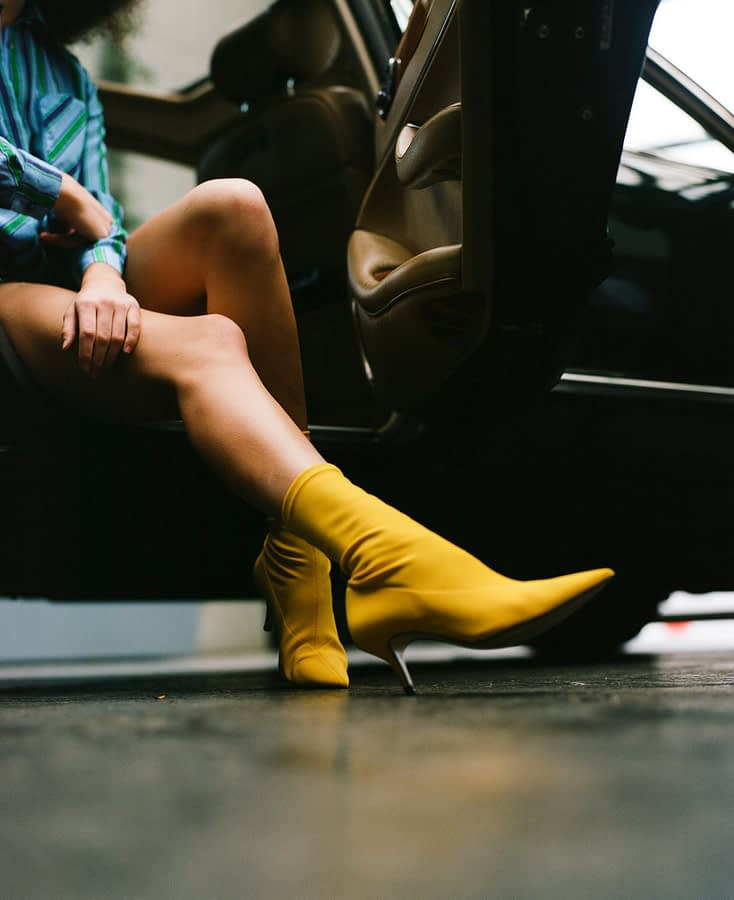 woman's shoes new york fashion photography