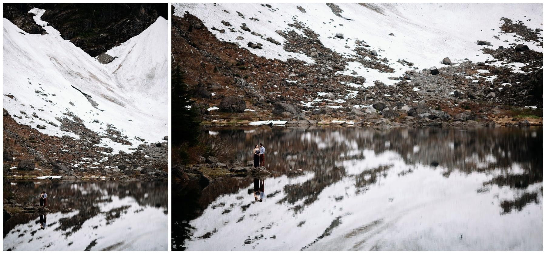 Lake 22 hiking engagement