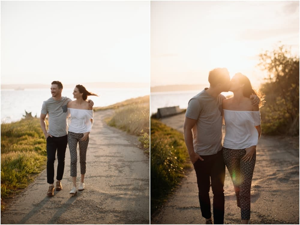 Sunset Discovery Park Engagement