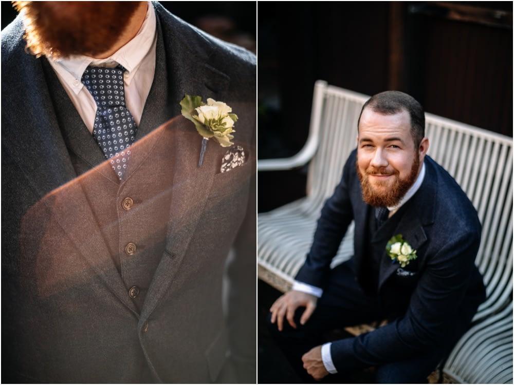 groom portraits Georgetown ballroom wedding