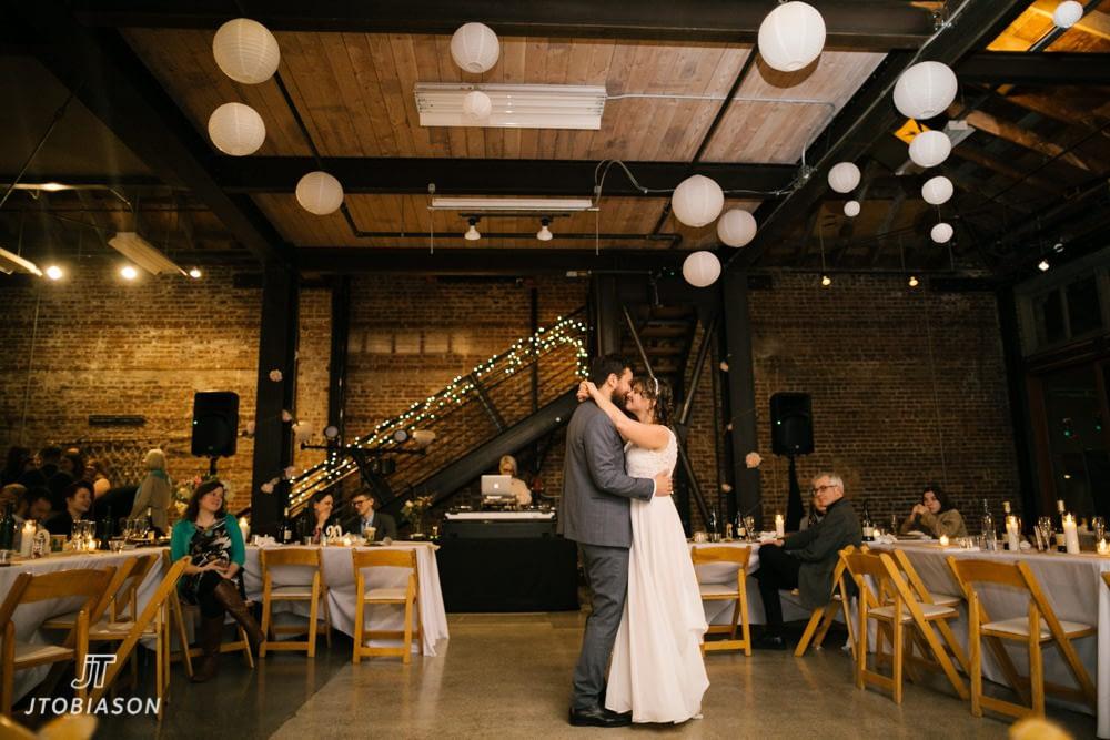 first dance madart wedding photo