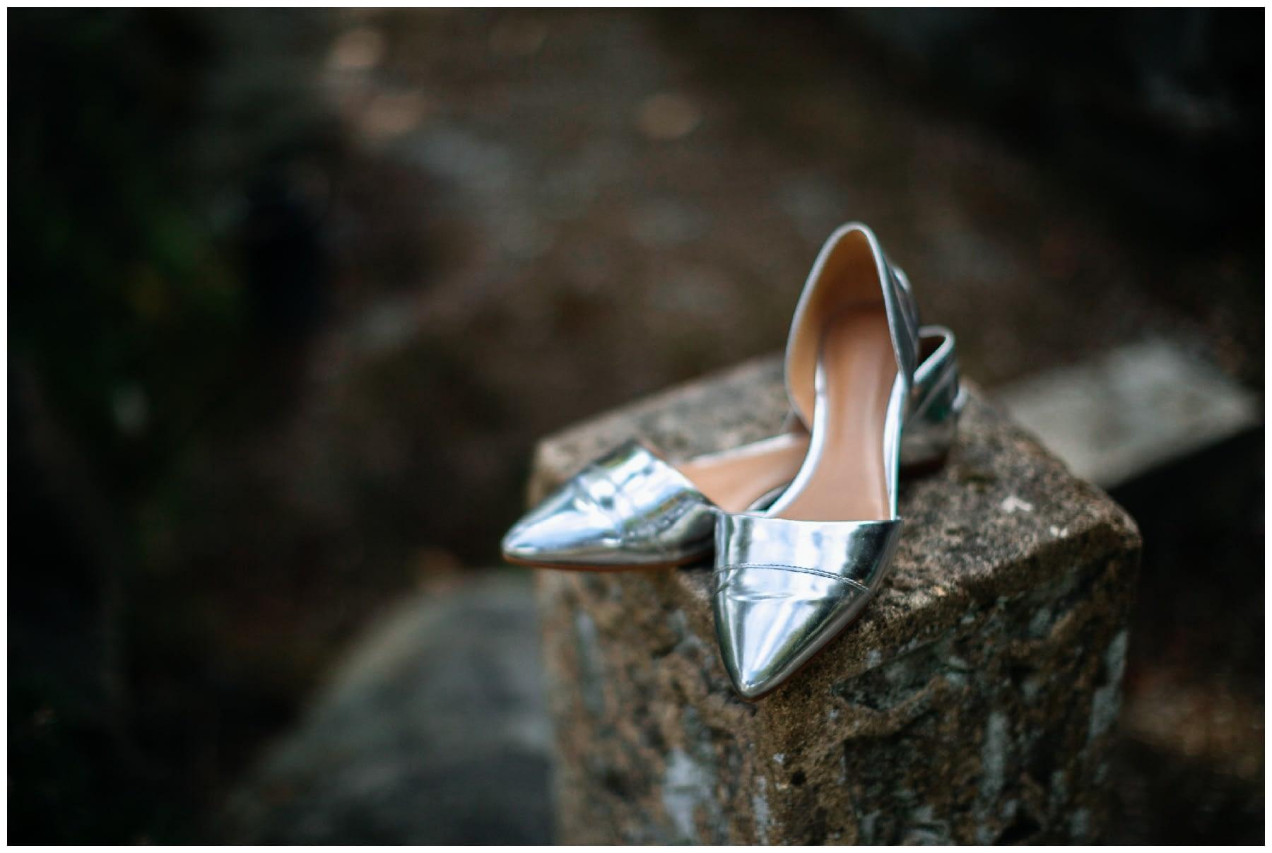 brides shoes seattle wedding