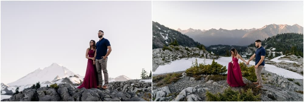 Artist Point hiking engagement